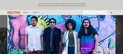 noisetrade feature